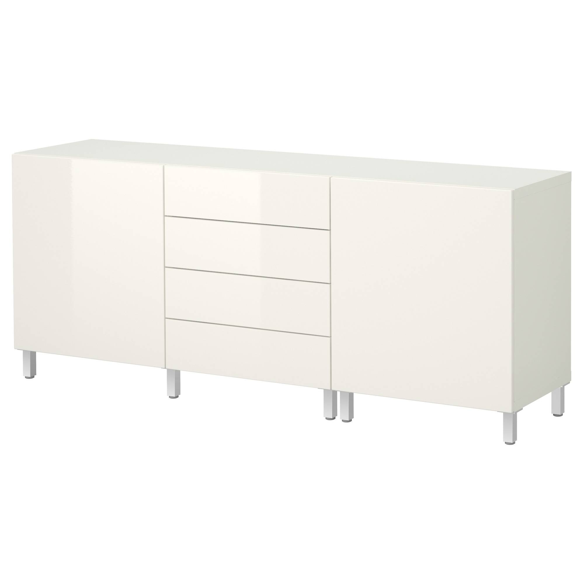 15 best of white gloss ikea sideboards for Sideboard ikea