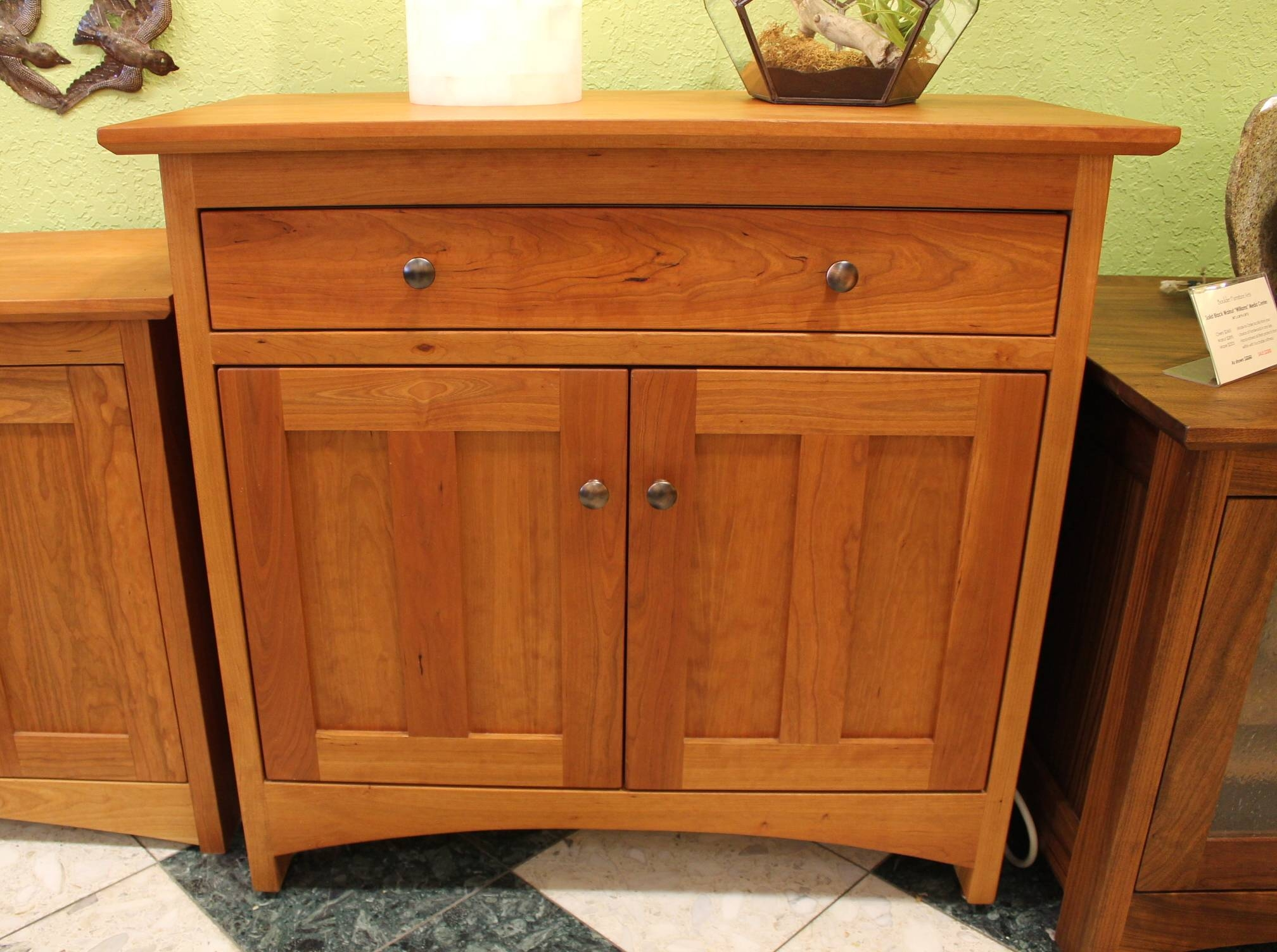 """Cherry """"prairie"""" Two Door Sideboard 
