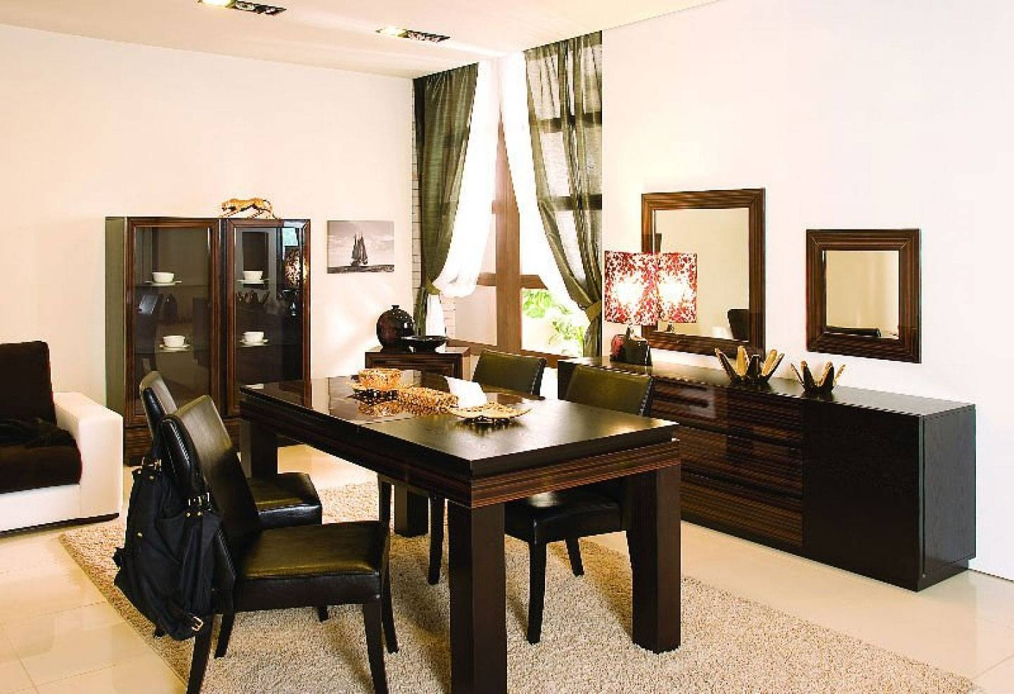 Classic Dining Room Table Set Bring Back Past Impression – Amaza Within Latest Dining Room Sets With Sideboards (#4 of 15)