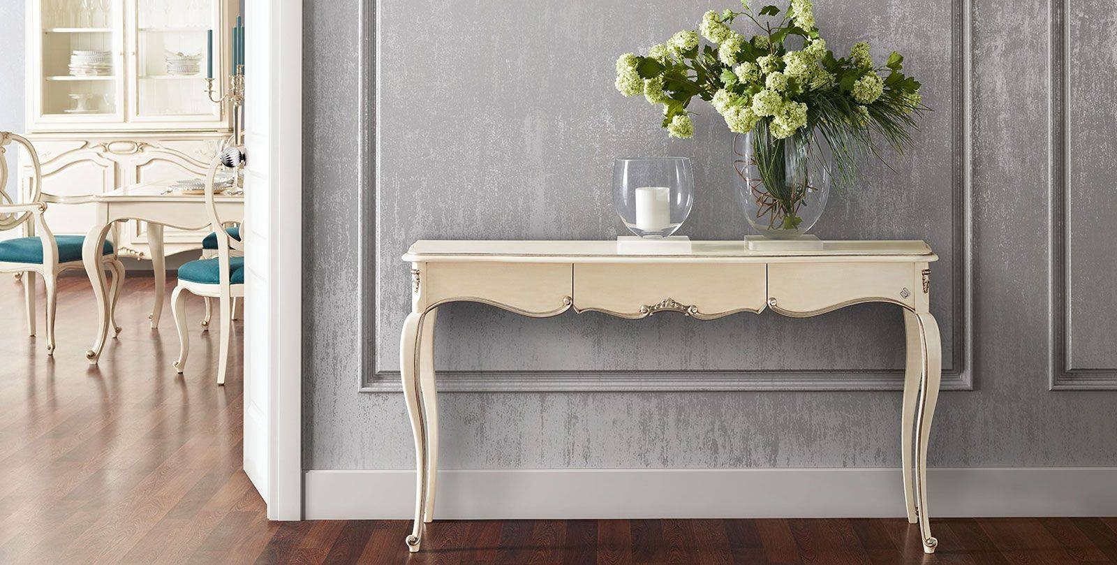 Classic Sideboard Table / Wooden / Rectangular / With Drawer Throughout 2017 Sideboard Tables (View 15 of 15)