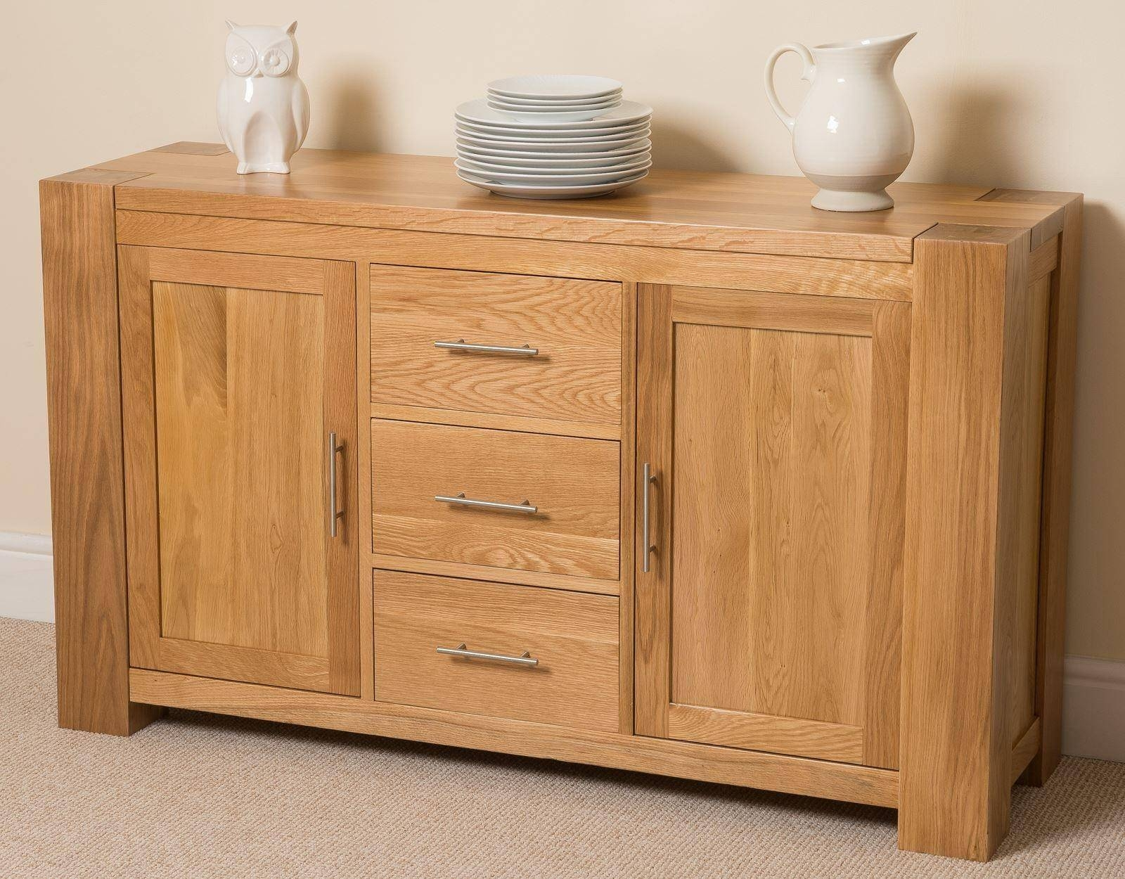 Classy Oak Sideboard Furniture | Wood Furniture Throughout Latest Solid Oak Sideboards (#3 of 15)