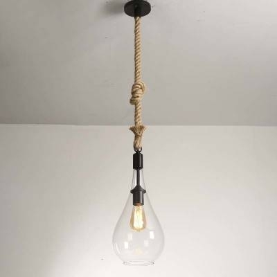 Clear Glass Led Mini Pendant Light Restaurant Lighting Fixture For Most Current Clear Glass Mini Pendant Lights (View 4 of 15)