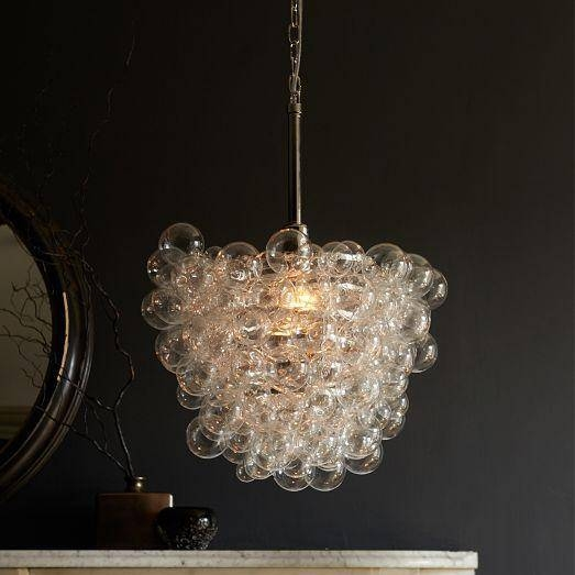 Clear Glass Pendant With 2018 Glass Bubble Pendant Lights (#3 of 15)