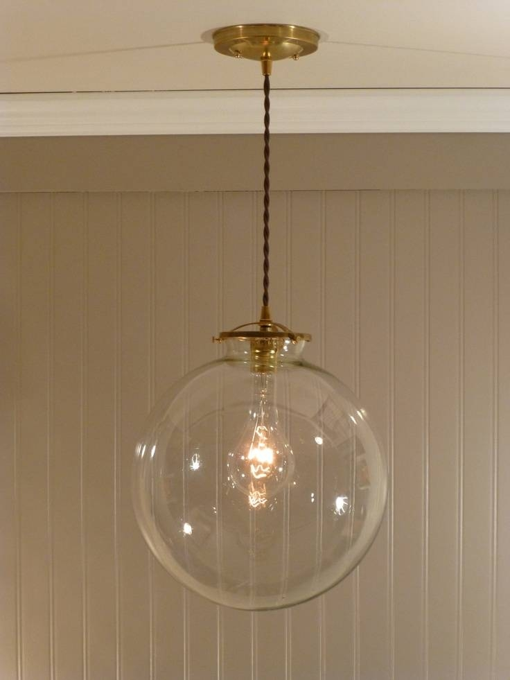 Clear Globe Pendant Light Fixtures With Regard To Stylish Property Regarding Most Current Clear Glass Globe Pendant Light Fixtures (#2 of 15)