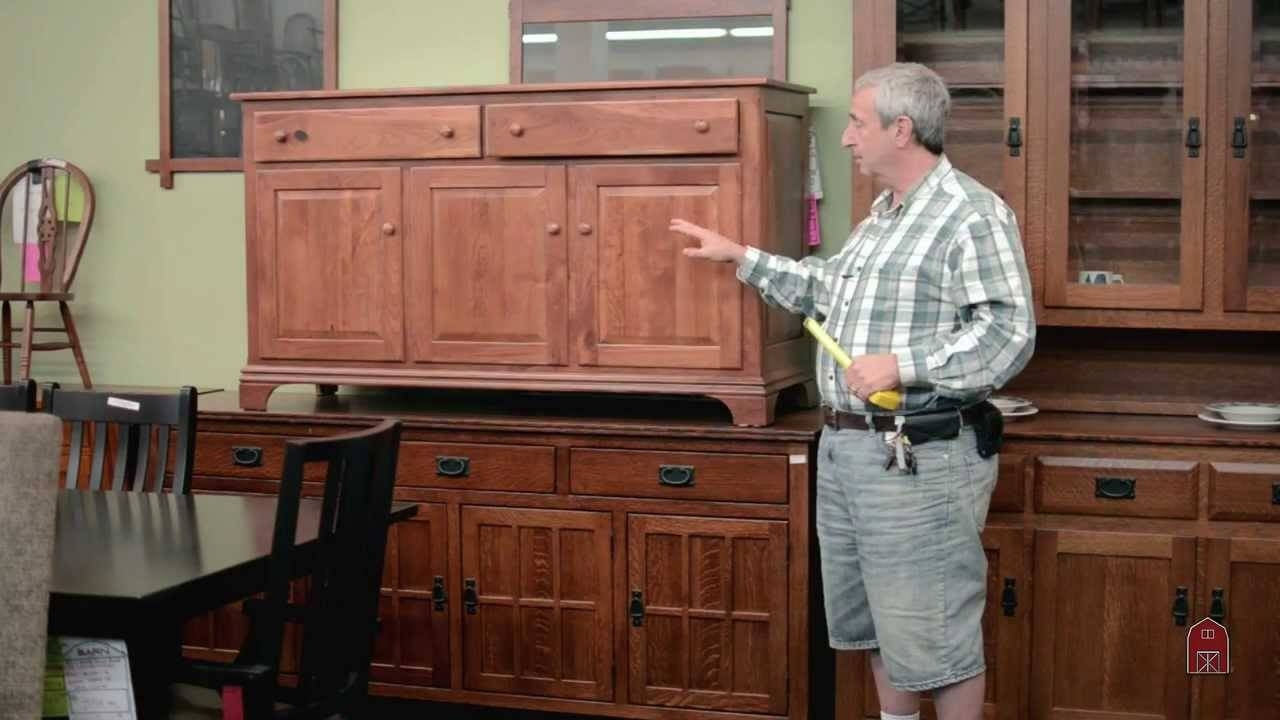 Colonial And Traditional Cherry Servers Sideboards Buffet Custom Regarding Best And Newest Cherry Sideboards (#4 of 15)