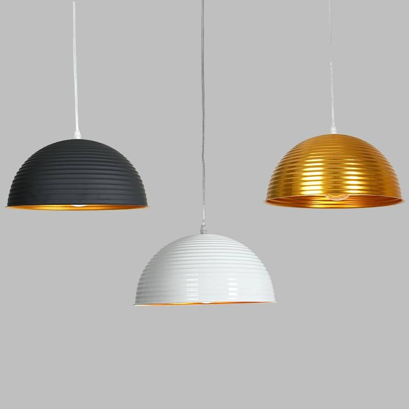 Colorful Modern Nordic Lamp Shades Kitchen Dining Room Decorate For Current Pendant Light Shades (#5 of 15)