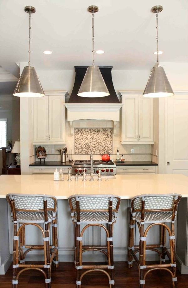 Cone Pendants: New Lighting For Our Kitchen! | Drivendecor For Most Up To Date Silver Kitchen Pendant Lighting (View 9 of 15)