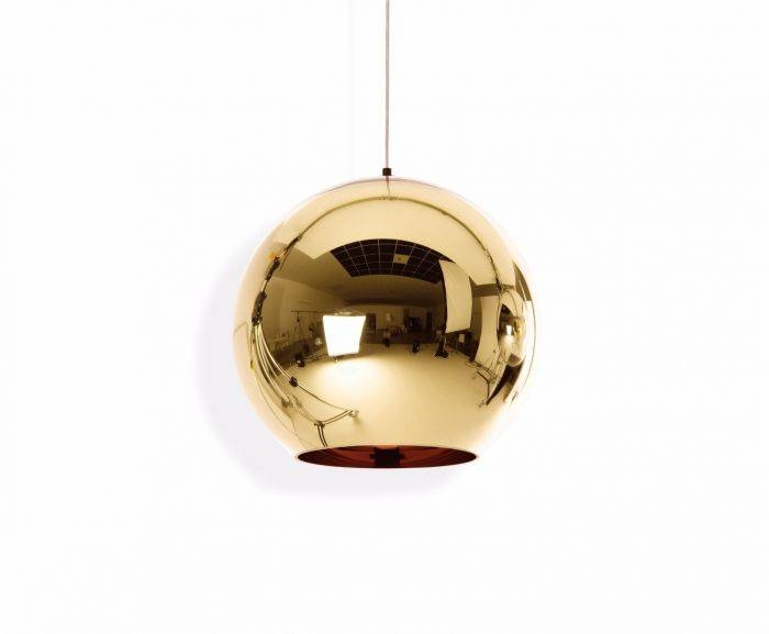 Copper Bronze 45Cm Pendant | Pendant Lights | Tom Dixon Regarding Latest Bronze Globe Pendant Lights (#8 of 15)