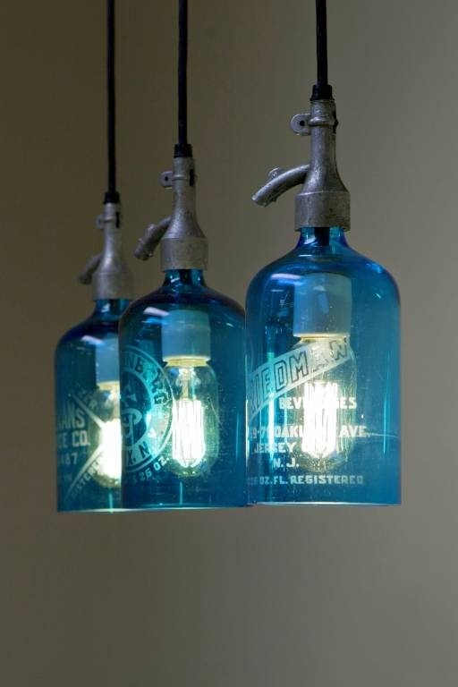 Creative Of Blue Pendant Lighting And Blue Glass Pendant Light Regarding 2017 Blue Glass Pendant Lights (#9 of 15)