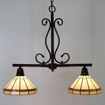 Creative Of Stained Glass Island Lighting Fixtures Fashion Style With Regard To Most Up To Date Tiffany Style Pendant Light Fixtures (#5 of 15)