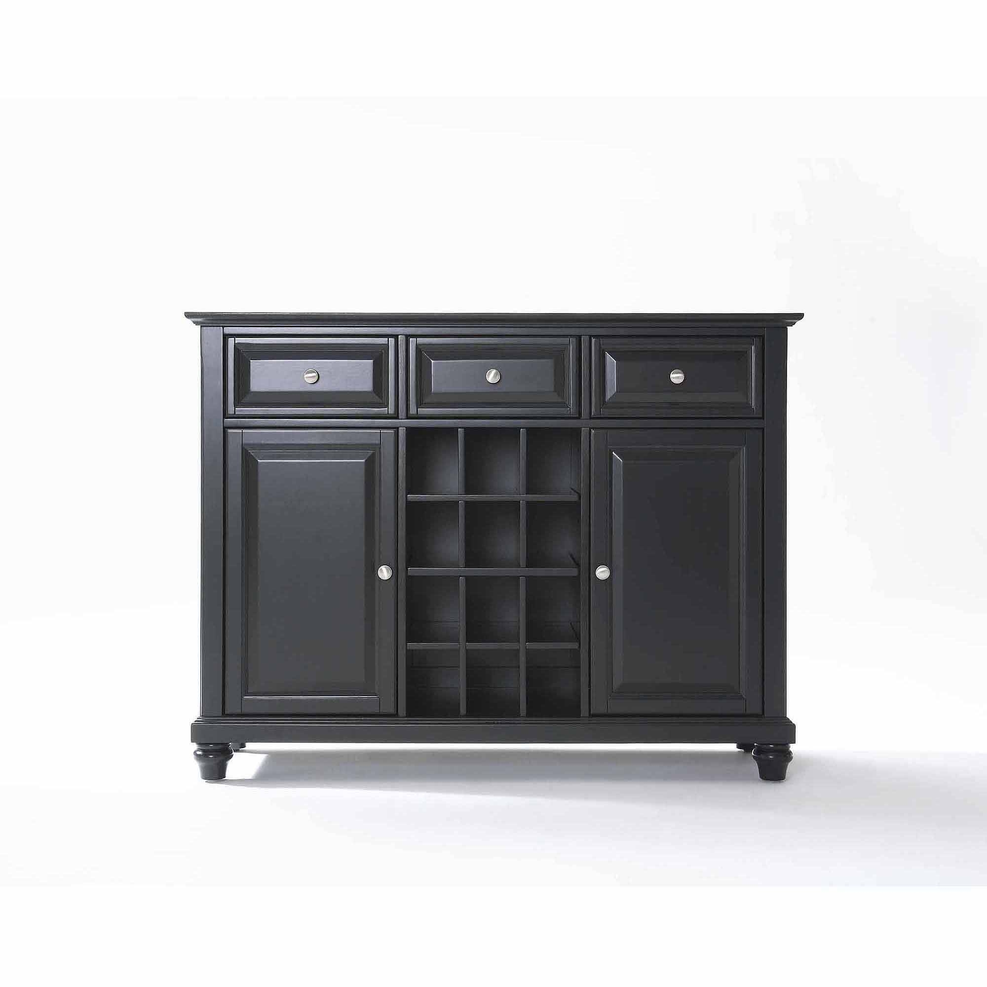 Crosley Furniture Cambridge Buffet Server And Sideboard Cabinet Intended For 2017 50 Inch Sideboards (#8 of 15)