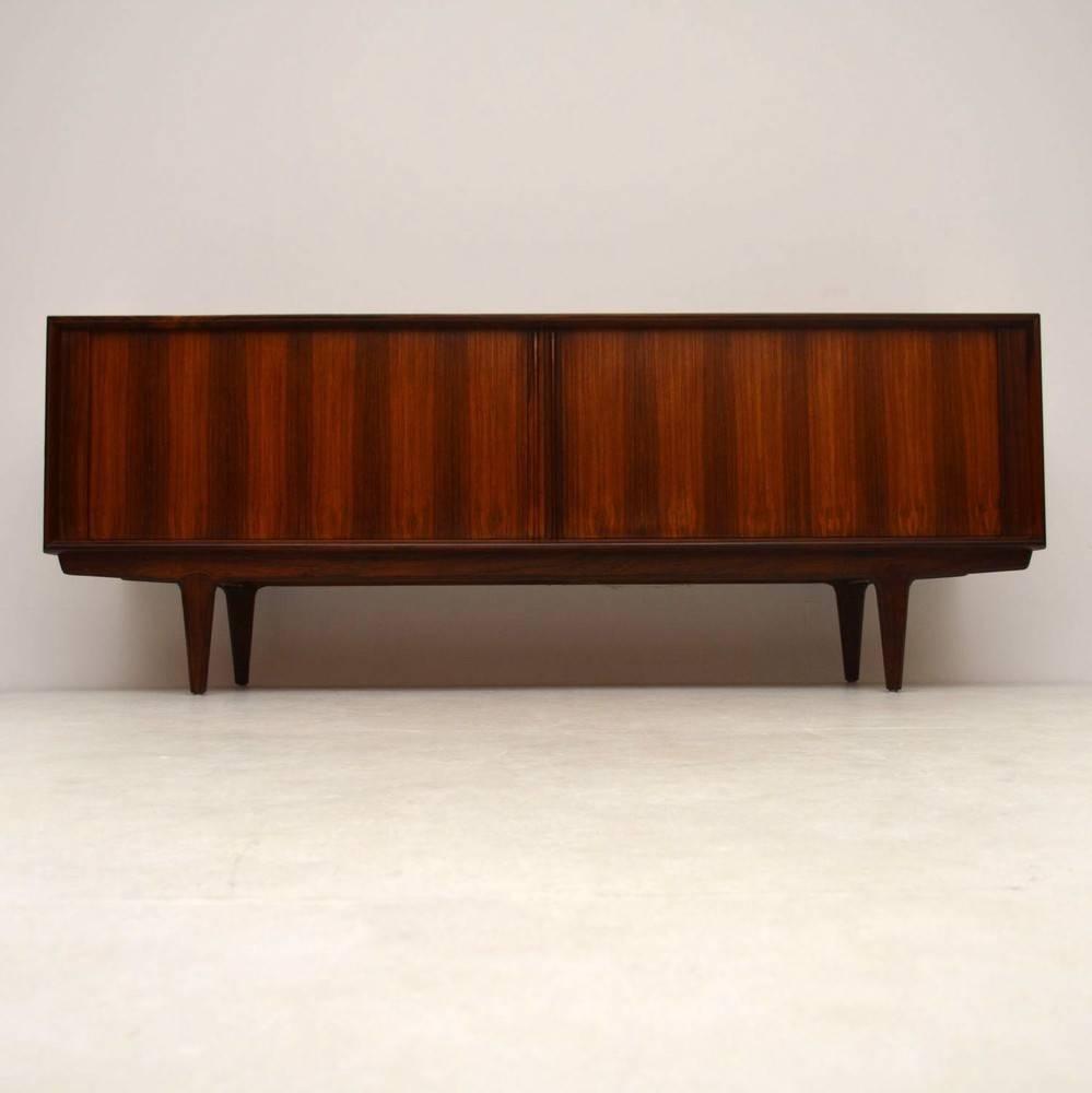 Danish Rosewood Retro Sideboardbernhard Pedersen Vintage In Most Recently Released Danish Retro Sideboards (#7 of 15)