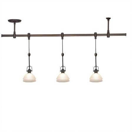 Dimmable Track Lighting System 4 Light Bronze Led Dimmable Fixed With Regard To Latest Pendant Lighting For Track Systems (View 3 of 15)