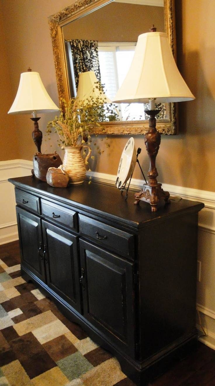 15 Best Of Black Dining Room Sideboards