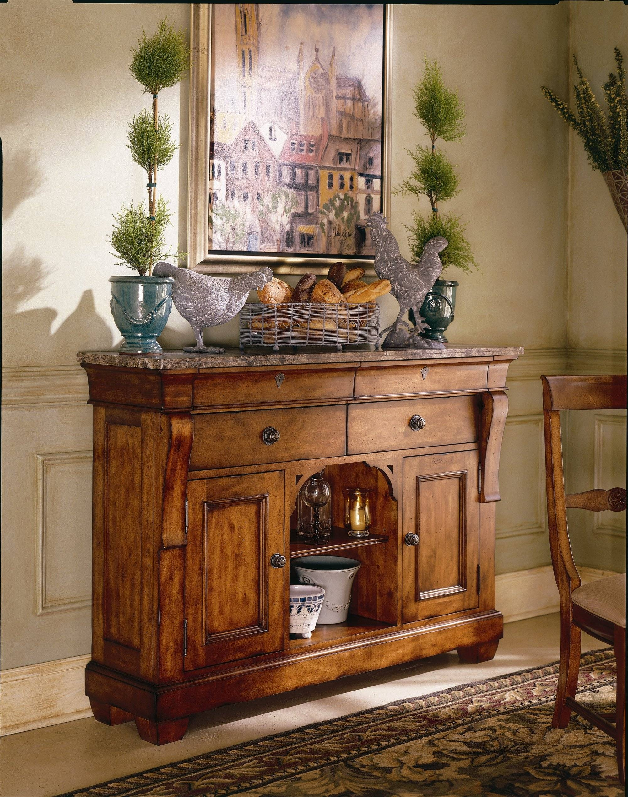 Dining Room Beautiful Sideboard Cabinet Wood Buffet With Most Current Small Sideboards