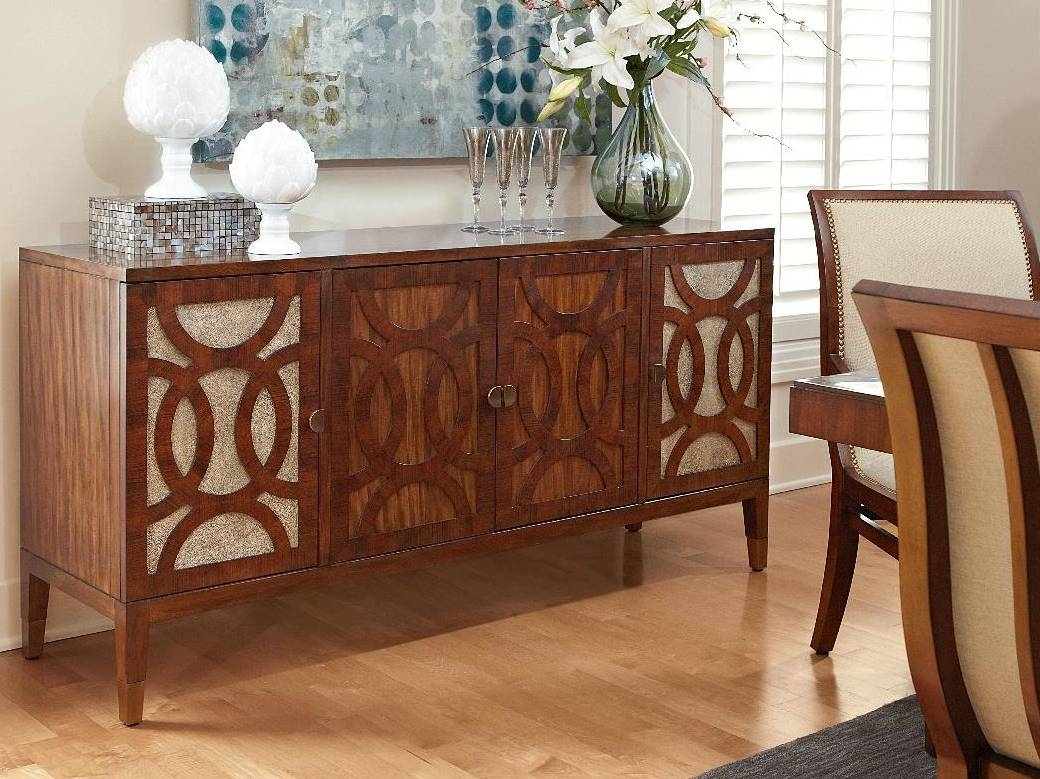 Dining Room Buffet Cabinet Sideboards Buffets Storage Servers 17 Intended For 2018 Dining Room Servers And Sideboards (#5 of 15)