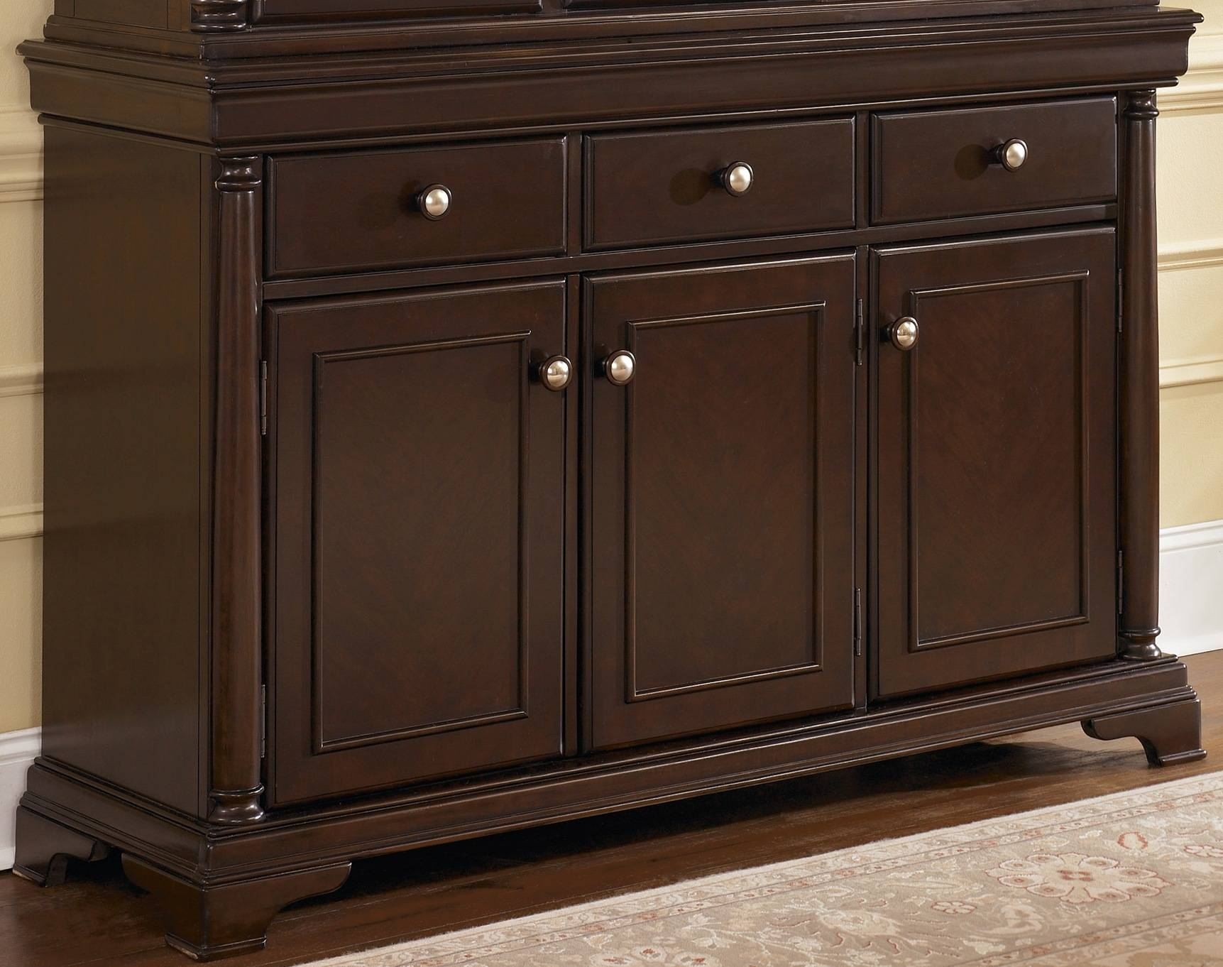 Dining Room Credenza Ideas Including Buffet Cabinet Pictures Inside Newest Dining Buffets And Sideboards (#12 of 15)