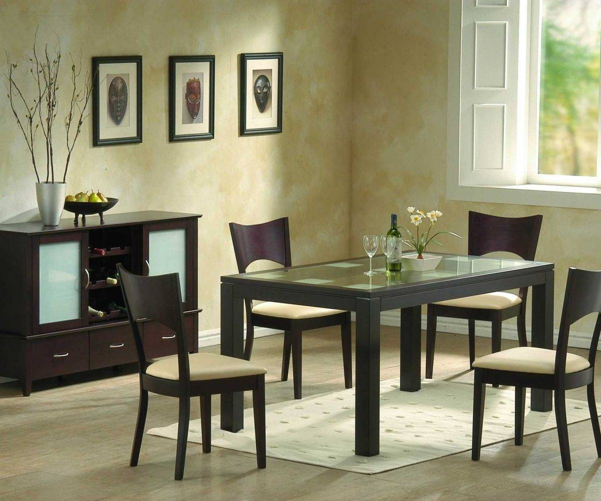Dining Room Designs Hgtv In Dainty Square Table Room Design With In Most Popular Dining Room Table Chairs And Sideboards (#5 of 15)