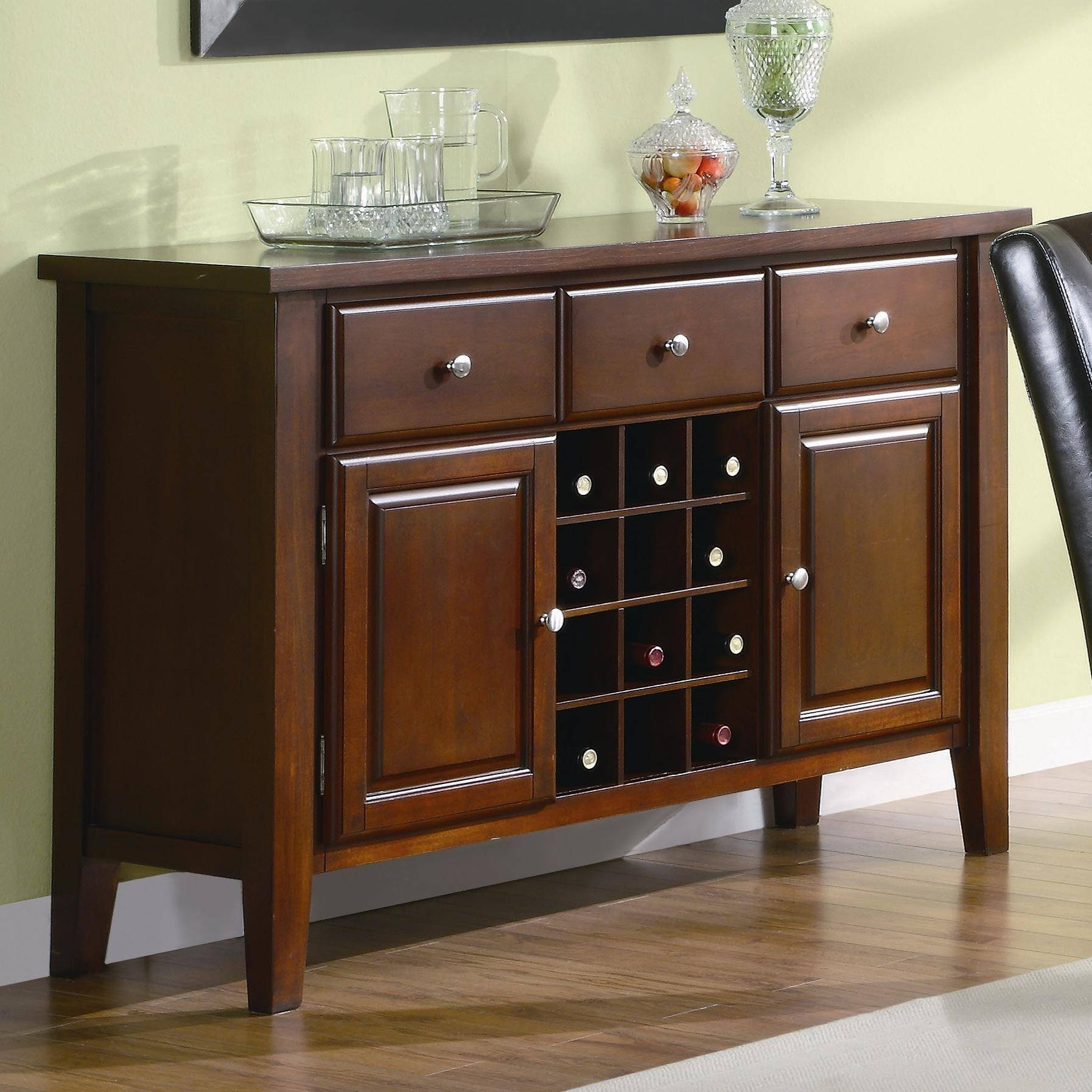 Dining Room: Exquisite Dining Room Servers With Best Pair With Most Recent Dining Room Servers And Sideboards (#8 of 15)