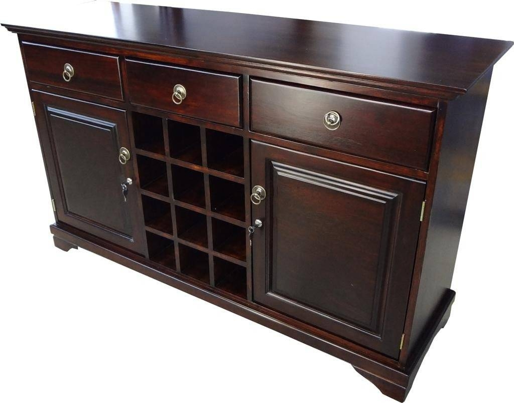 Dining Room Servers Sideboards » Dining Room Decor Ideas And Intended For 2018 Sideboards And Servers (View 4 of 15)