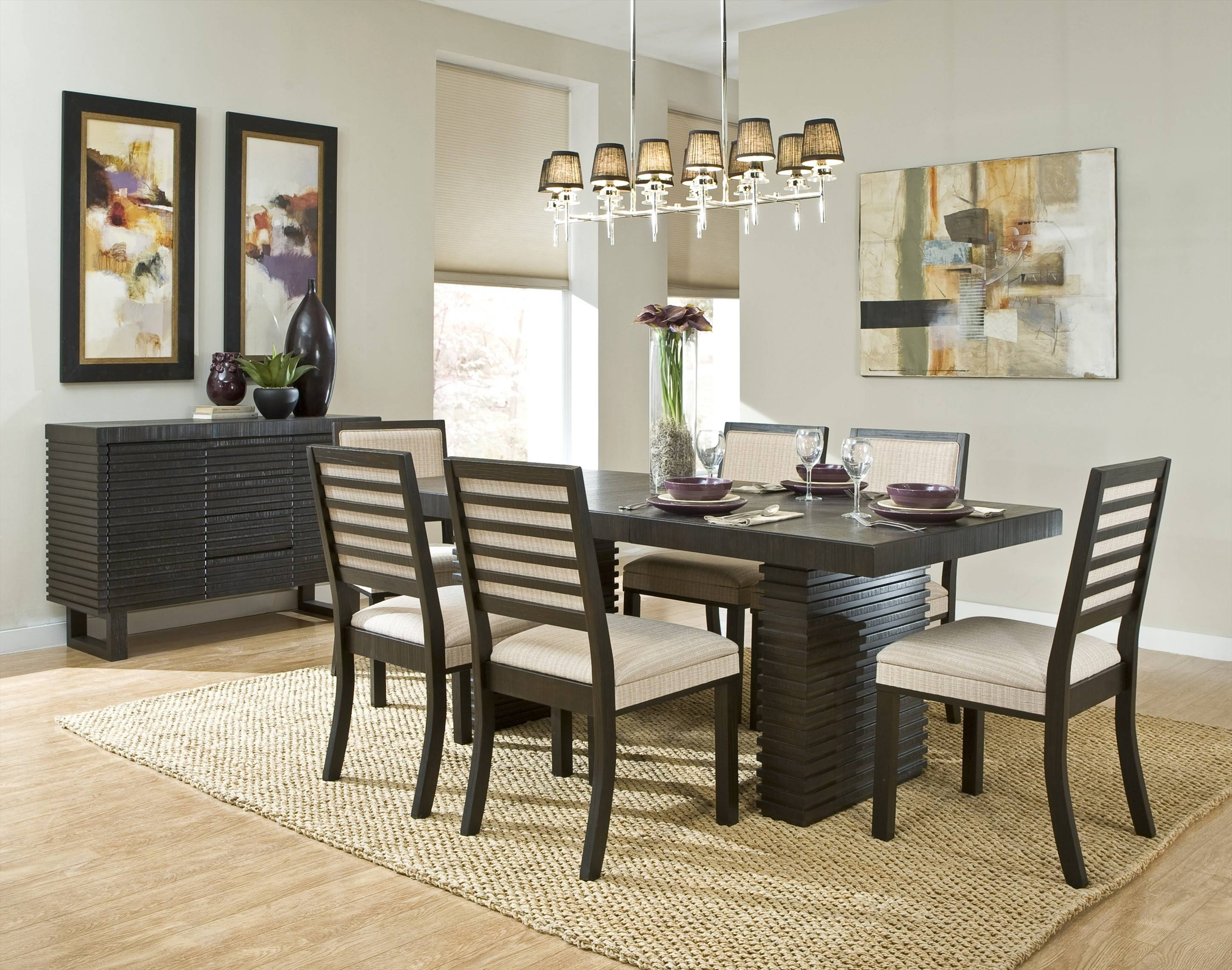 Dining Room Sideboard Decorating Ideas ~ Dining Room Pertaining To Recent Dining Room Sets With Sideboards (#5 of 15)