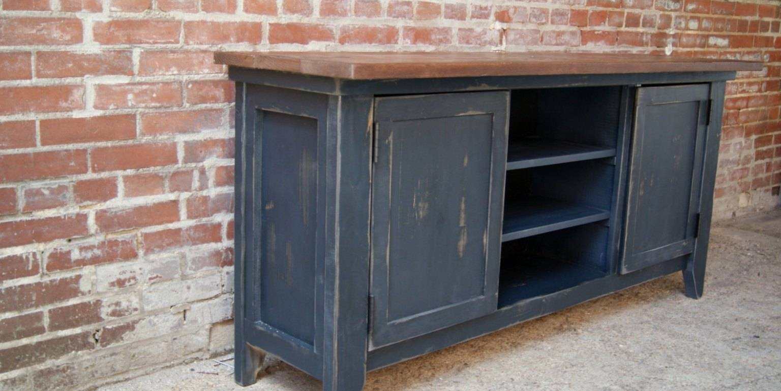 Dining Server Dining Sideboard Buffet Low Buffet Cabinet Black Intended For Latest Slim Kitchen Sideboards (#7 of 15)