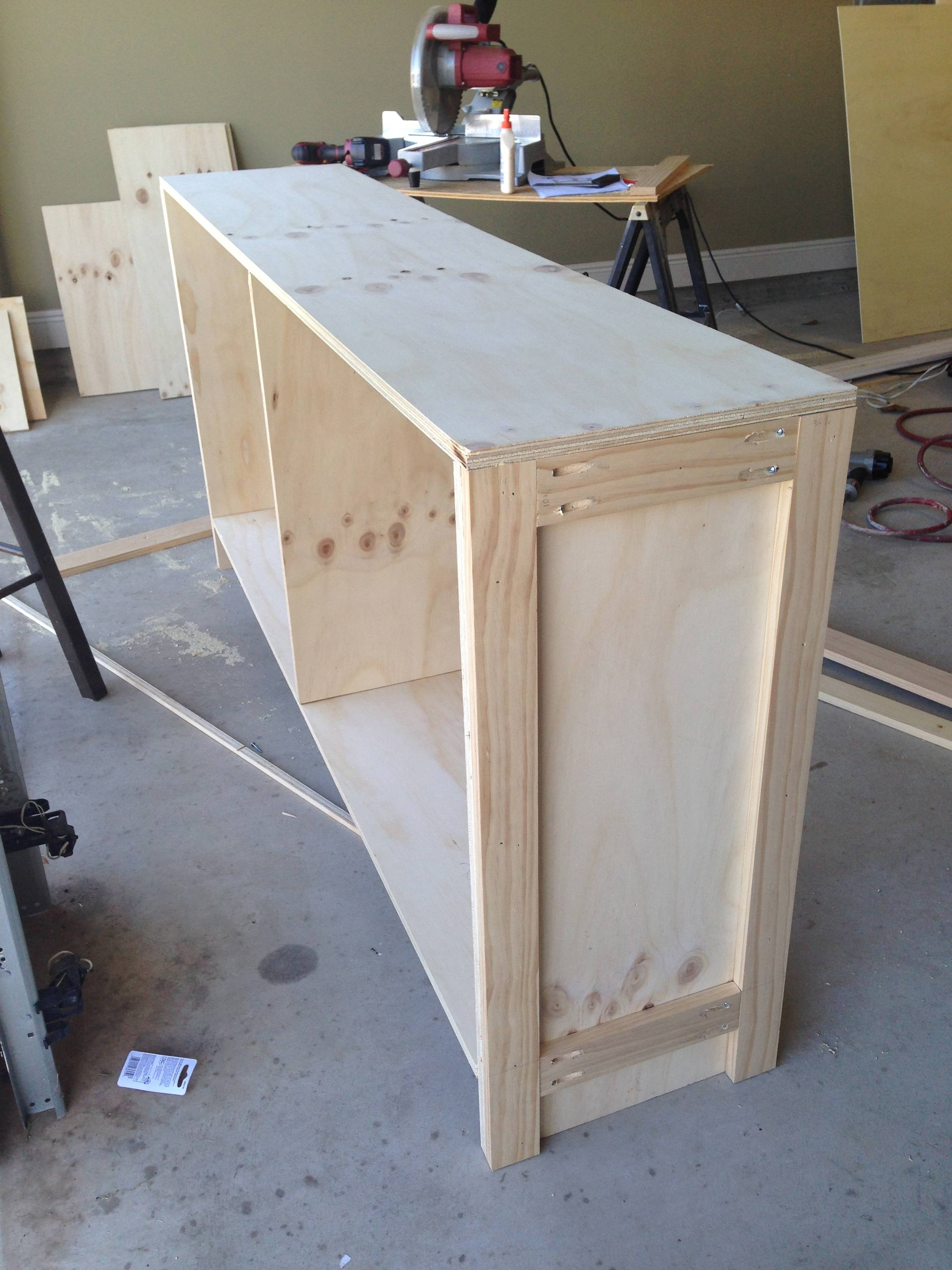 Diy Sideboard | The Sweet Life Pertaining To Current Diy Sideboards (#9 of 15)