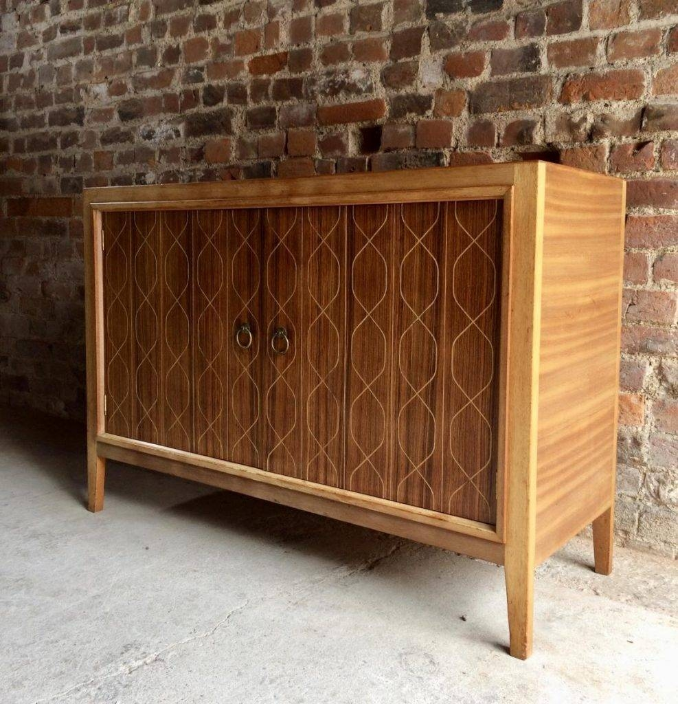 Double Helix Sideboard Von David Booth Für Gordon Russell, 1950Er Intended For Most Recently Released Gordon Russell Helix Sideboards (#5 of 15)