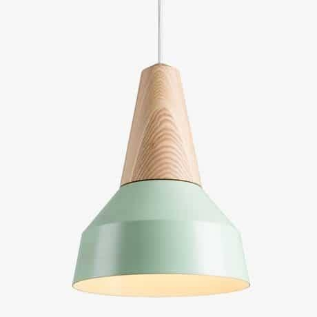 Eikon Lamp Wood Pendant Lighting | Id Lights Pertaining To Latest Wooden Pendant Lighting (#6 of 15)
