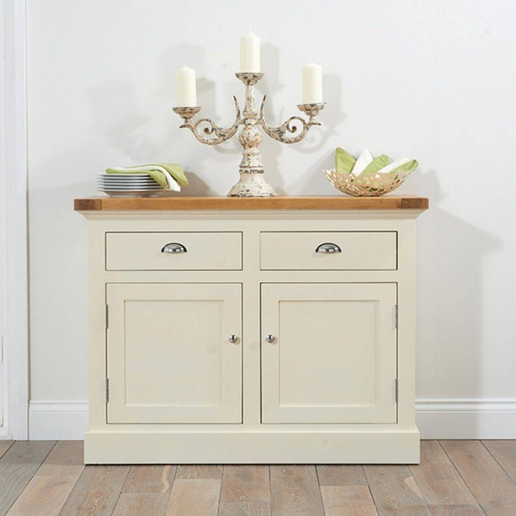 Elegant Cream And Oak Sideboard – Buildsimplehome Throughout Most Current Cream Oak Sideboards (View 3 of 15)