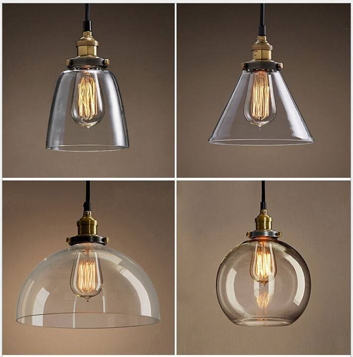 Endearing Glass Pendant Light Shades Glass Pendant Lamp Shades For Most Recent Pendant Light Shades (#6 of 15)