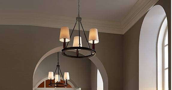 Entryway, Hallway & Foyer Lighting At The Home Depot In Most Recent Foyer Pendant Light Fixtures (View 11 of 15)