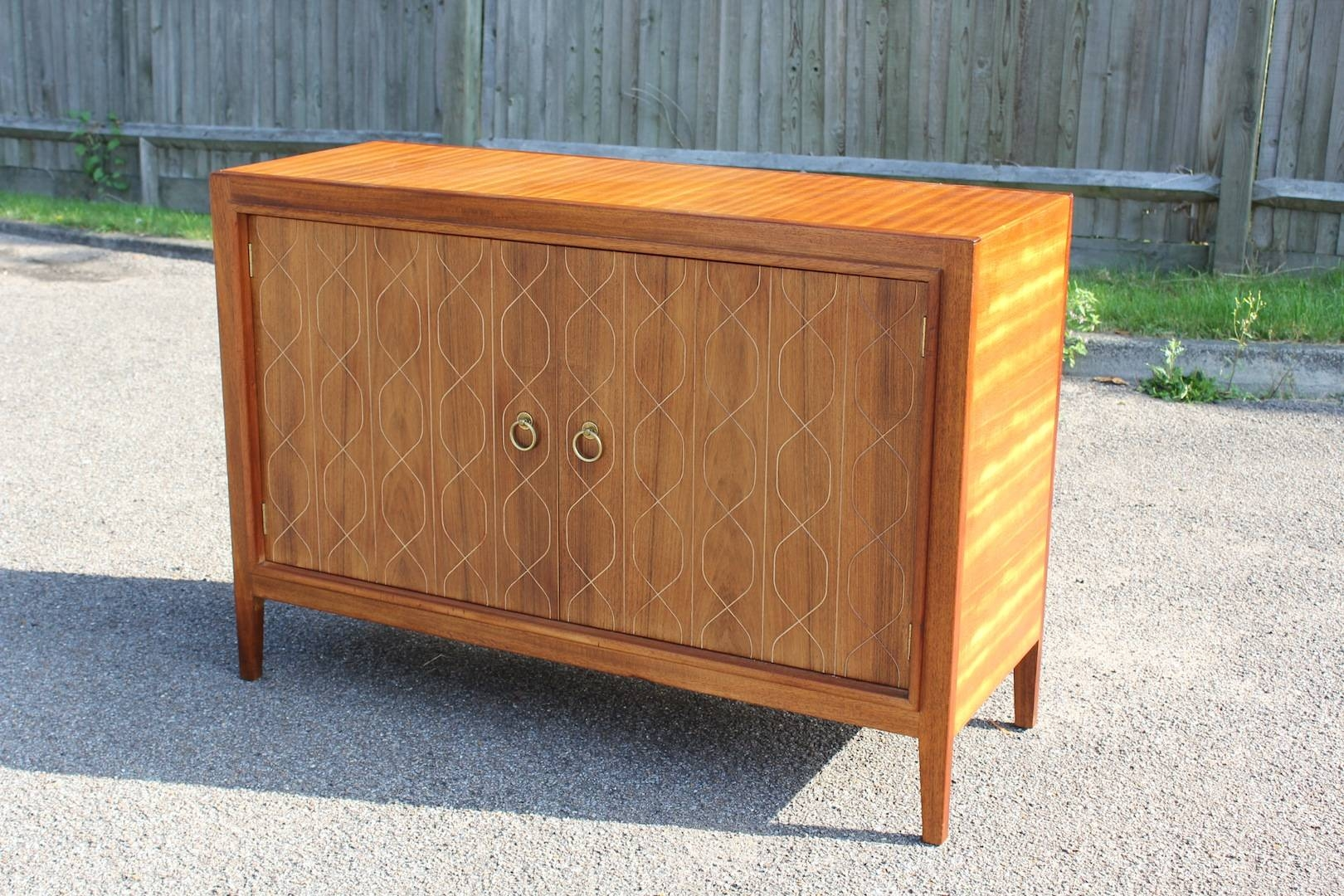 Fabulous Gordon Russell 'double Helix' Mahogany & Rosewood In Newest Gordon Russell Helix Sideboards (#8 of 15)