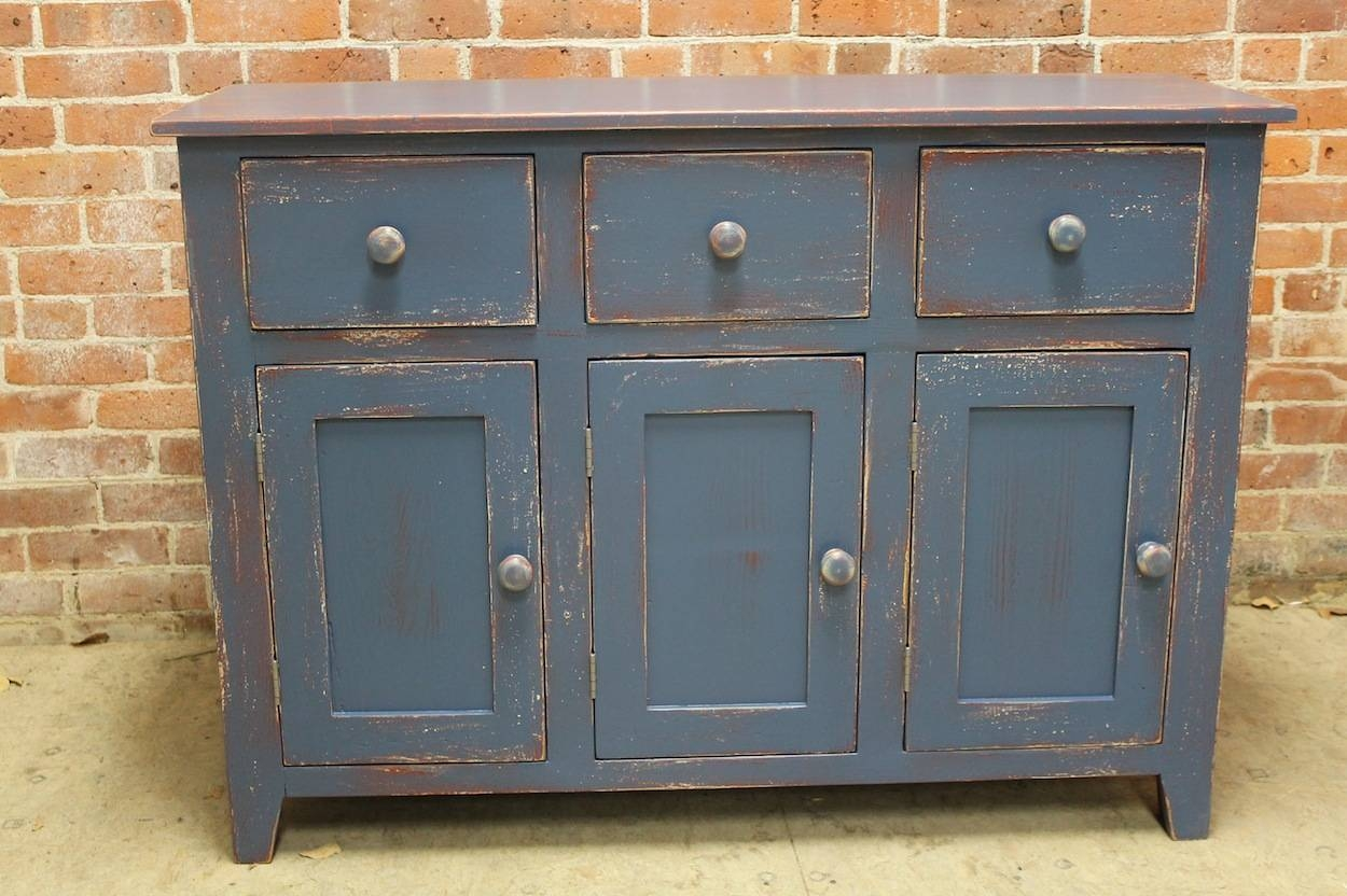 Farmhouse Sideboard Buffets With Newest Painted Sideboards And Buffets (#4 of 15)
