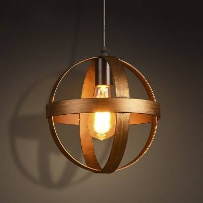 Fashion Style Pendant Lights, Globe Industrial Lighting Throughout 2017 Bronze Globe Pendant Lights (#9 of 15)