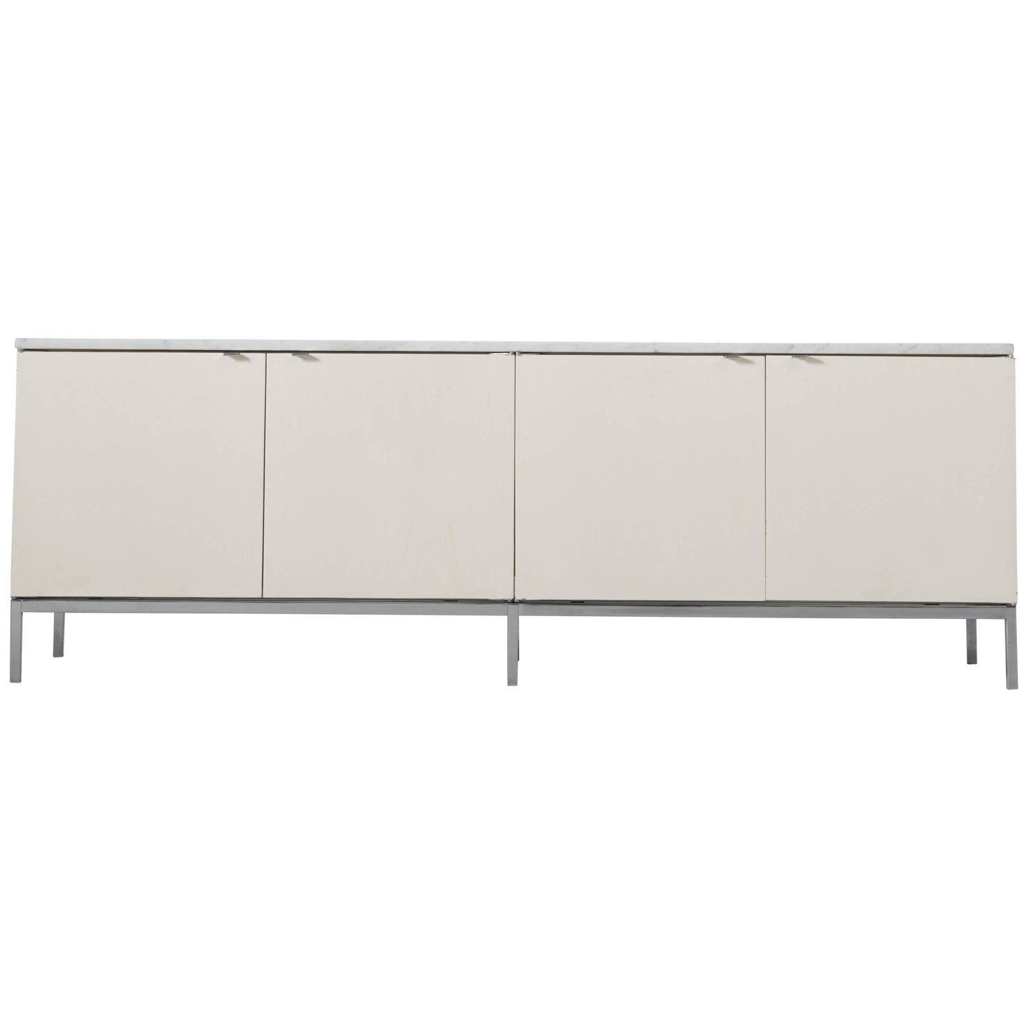 Florence Knoll Sideboard With Marble Top For Knoll International With Regard To 2018 Knoll Sideboards (#7 of 15)