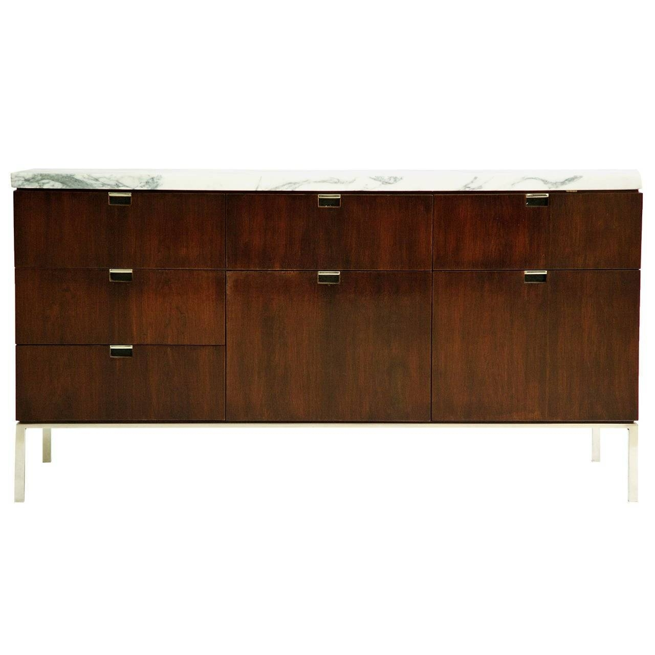 Florence Knoll Sideboards – 26 For Sale At 1Stdibs Inside 2018 Knoll Sideboards (#8 of 15)