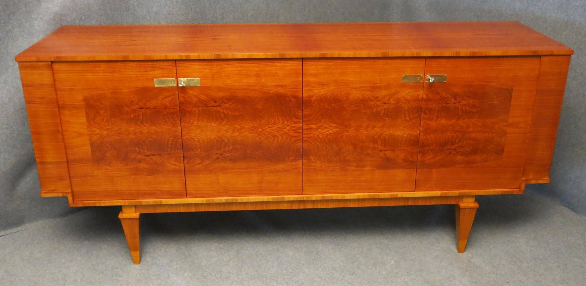 French Art Deco Sideboard, 1920S For Sale At Pamono Throughout Newest Joop Sideboards (#1 of 15)