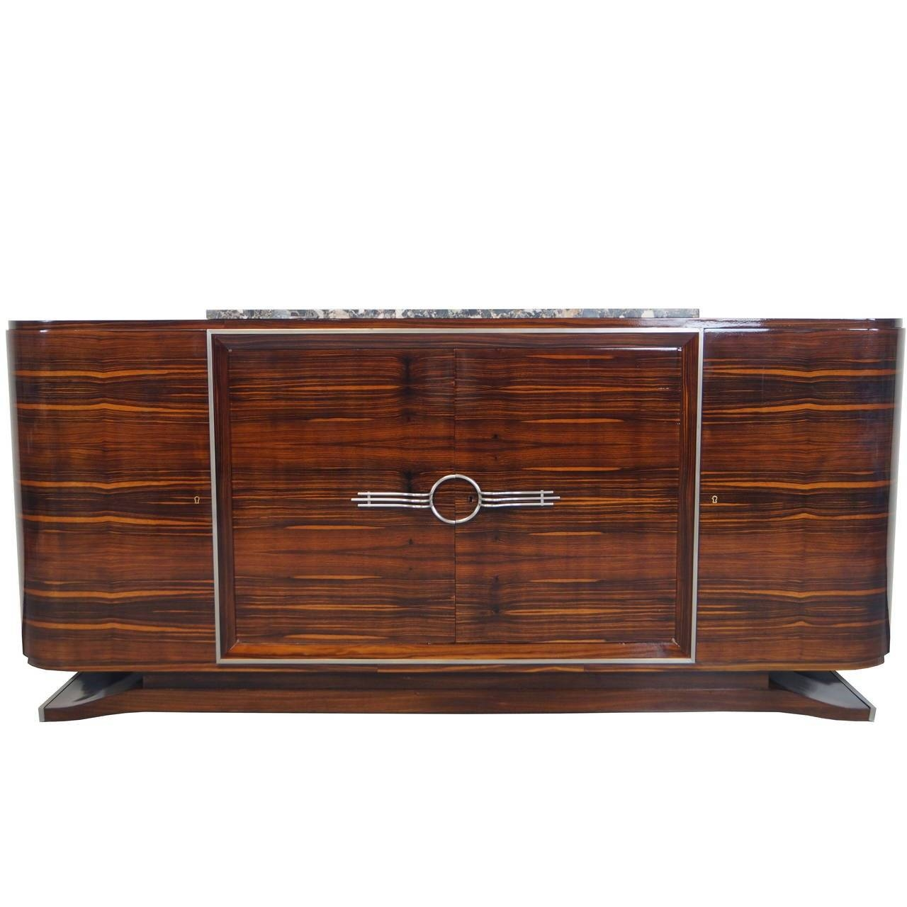 French Art Deco Sideboard At 1Stdibs In 2017 Art Deco Sideboards (#8 of 15)