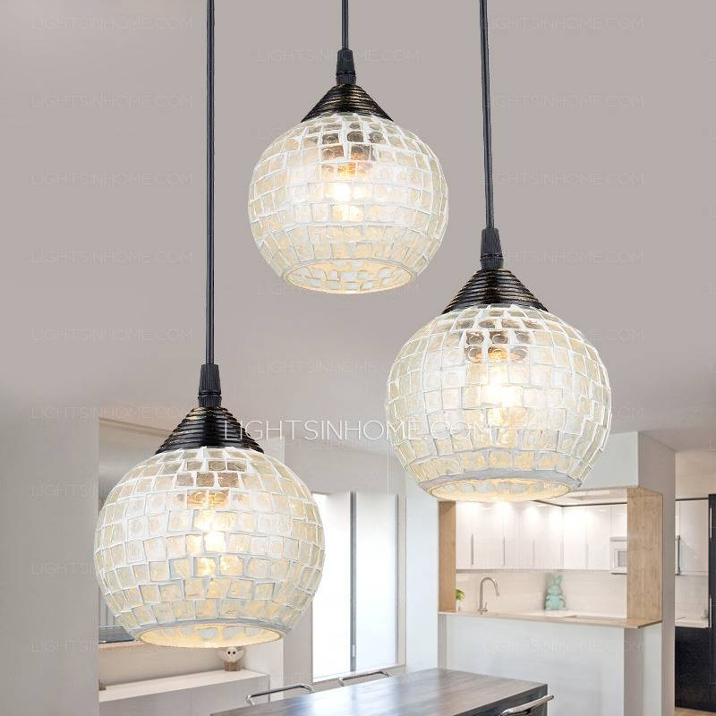 Fresh Kitchen Awesome Great Round Glass Pendant Lights Cheap Inside Recent Round Glass Pendant Lights (#4 of 15)