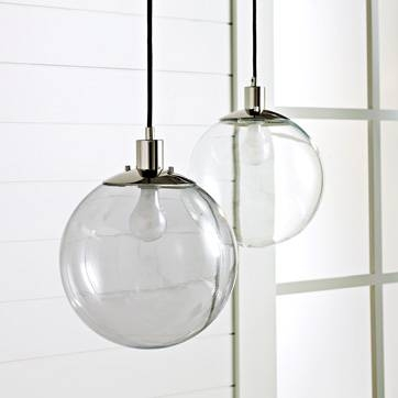Fresh Kitchen Wonderful Awesome Round Glass Pendant Lights Clear Inside Newest Round Glass Pendant Lights (#5 of 15)