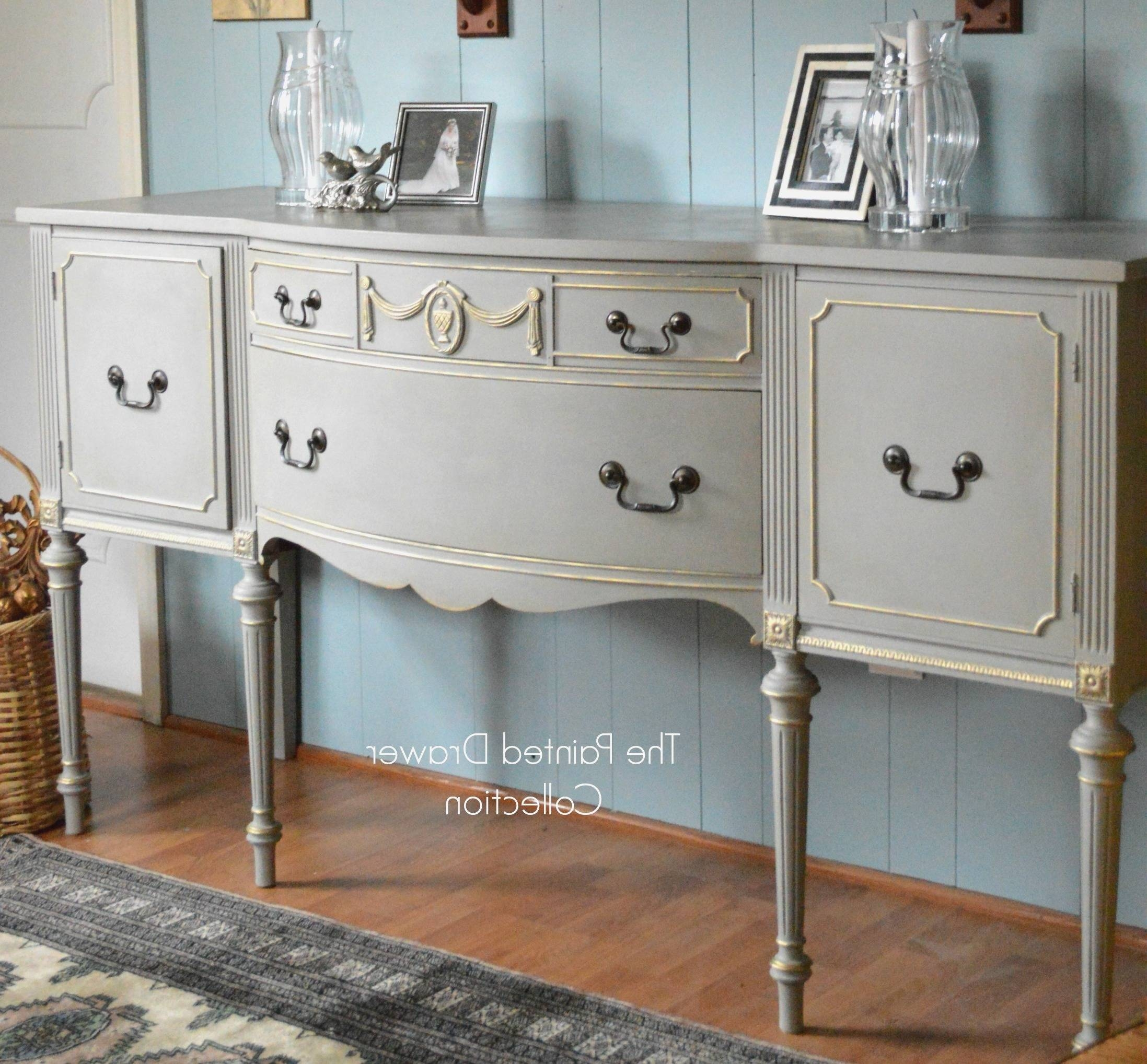 Fresh Vintage Sideboards And Buffets – Bjdgjy With 2018 Antique White Sideboards (#4 of 15)