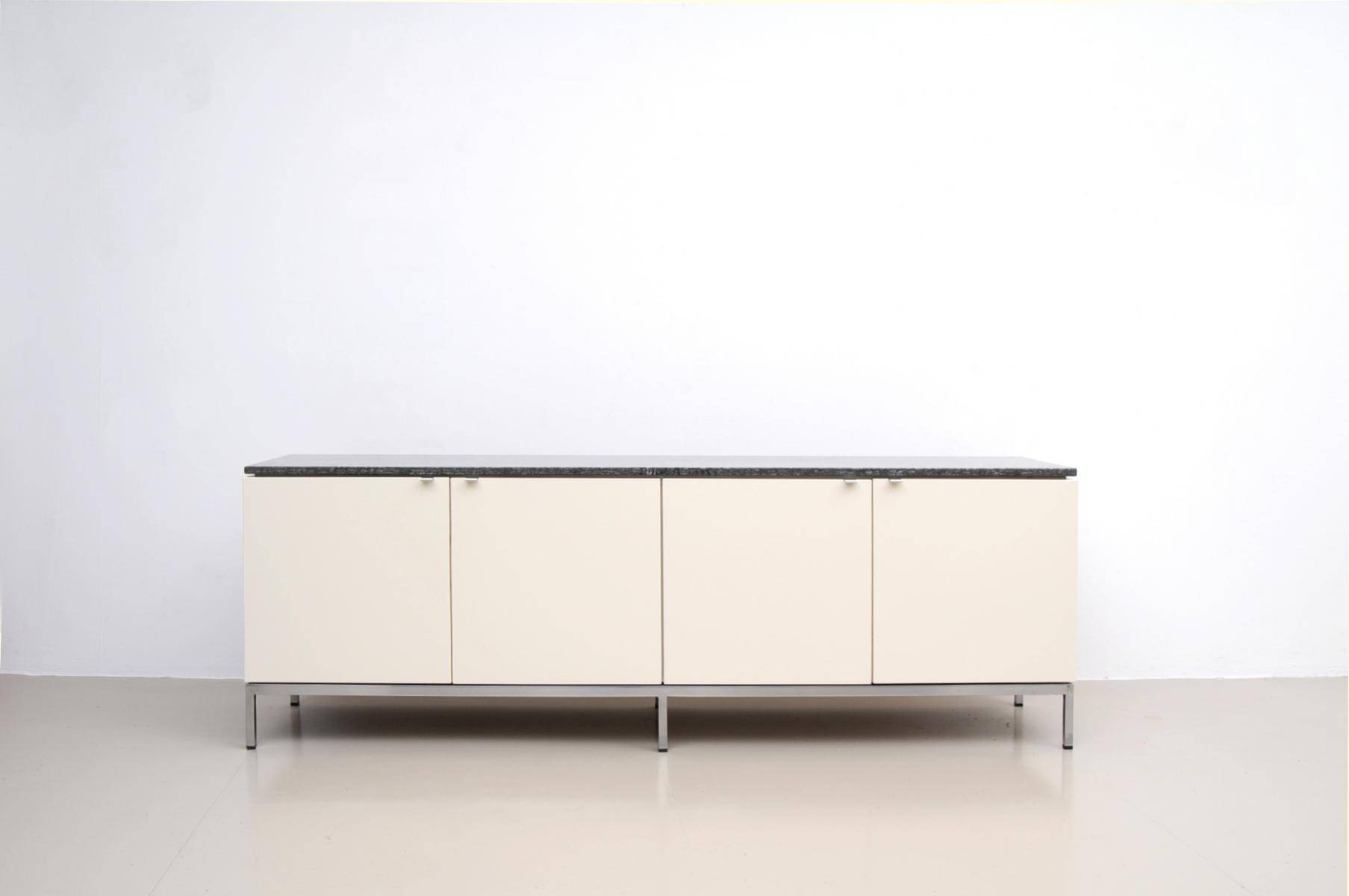 German Marble Top Sideboardflorence Knoll For Knoll Pertaining To Best And Newest Sideboards With Marble Tops (#9 of 15)