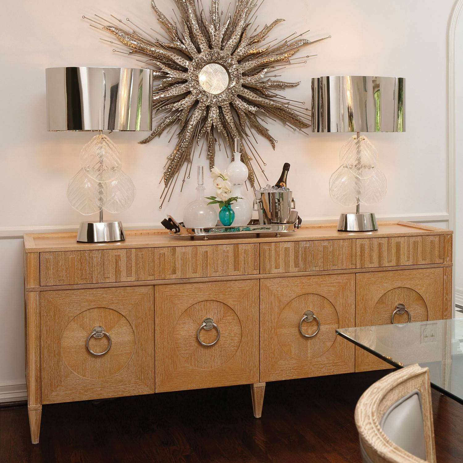 Inspiration about Global Views Furniture French Key Light Limed Oak Everything Cabinet For Most Recently Released Limed Oak Sideboards (#14 of 15)