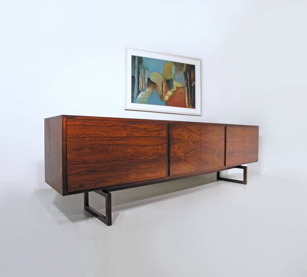 Hayloft Mid Century Sideboards Intended For Recent Long Sideboards (#5 of 15)