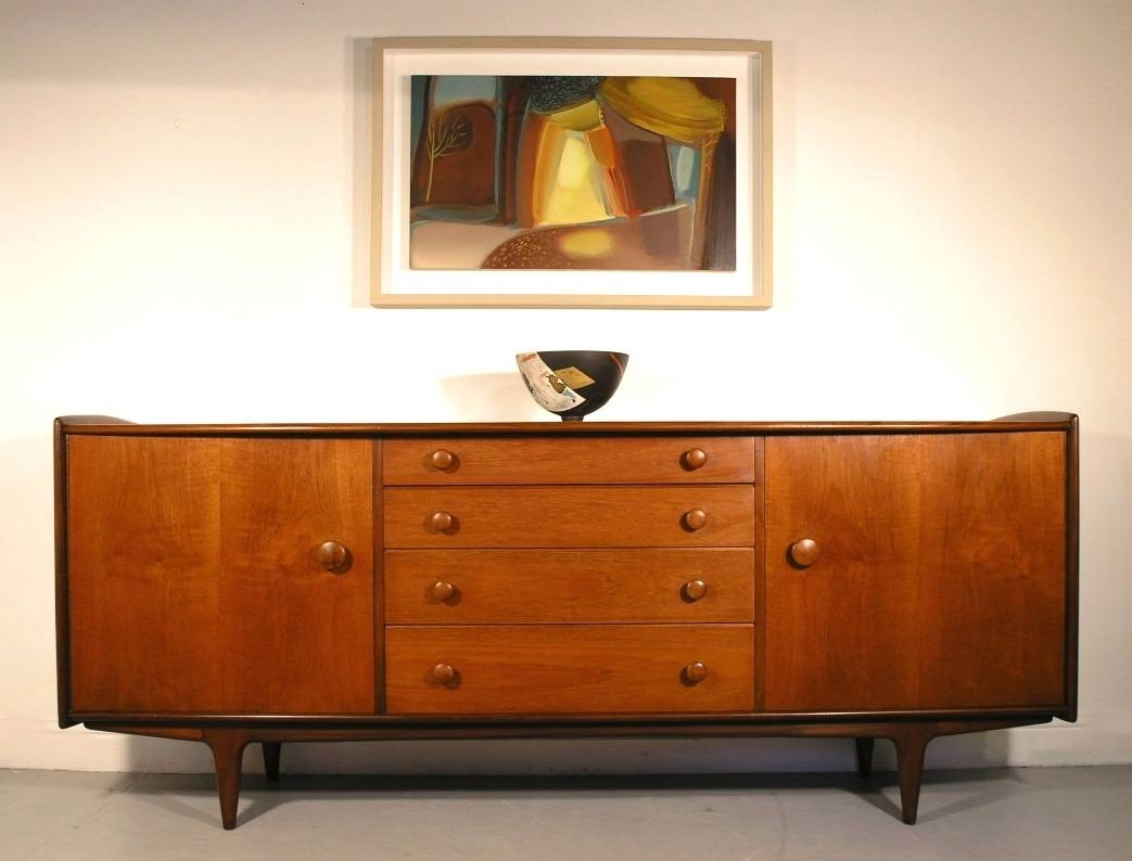 Hayloft Mid Century Younger Sideboard Teak And Afromosia John Herbert Inside 2018 A Younger Sideboards (#2 of 15)