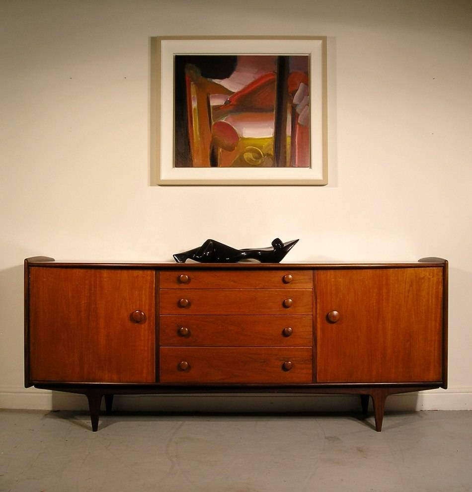Hayloft Mid Century Younger Sideboard Teak And Afromosia John Herbert With Latest A Younger Sideboards (#4 of 15)