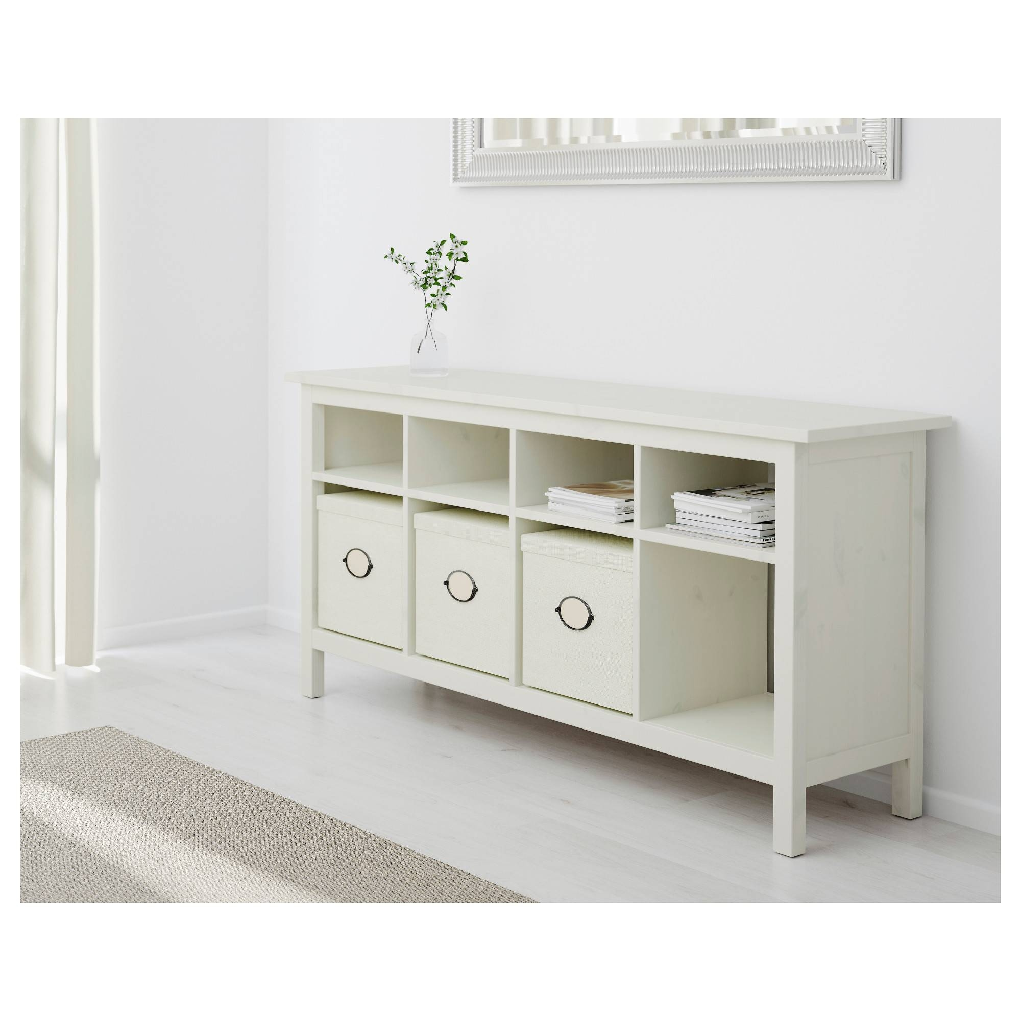 Hemnes Console Table – White Stain – Ikea Throughout 2017 Ikea Sideboards (#2 of 15)