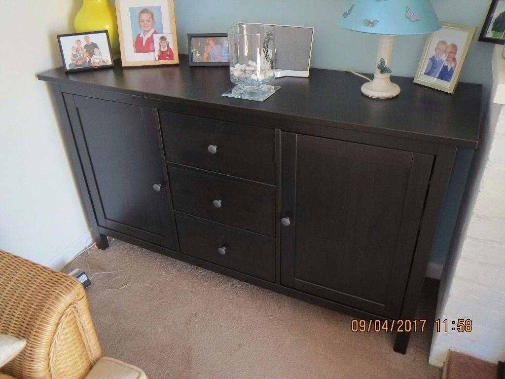 Hemnes Sideboard Hemnes Sideboard Assembly Within 2018 Black Brown Sideboards (#10 of 15)
