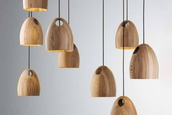 Holey Wood Lighting : Oak Pendant Lamp Inside Current Wooden Pendant Lighting (#7 of 15)